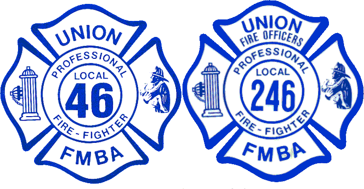 Union Firefighters NJ FMBA Locals 46 and 246